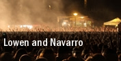 Lowen and Navarro Park West tickets