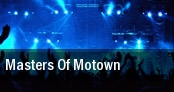 Masters of Motown Montalvo tickets
