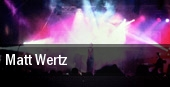 Matt Wertz The Ark tickets