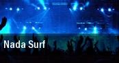 Nada Surf Seattle tickets