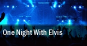 One Night With Elvis tickets