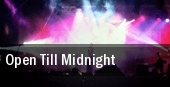 Open Till Midnight tickets