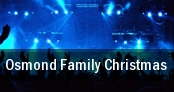 Osmond Family Christmas tickets