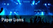 Paper Lions tickets