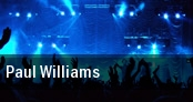 Paul Williams Washington tickets