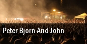 Peter Bjorn And John Washington tickets