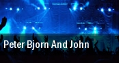 Peter Bjorn And John World Cafe Live tickets