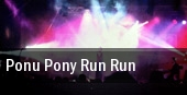 Ponu Pony Run Run tickets