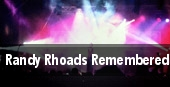 Randy Rhoads Remembered tickets