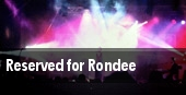 Reserved for Rondee tickets