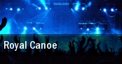 Royal Canoe The Banff Centre tickets