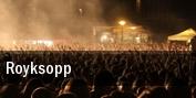 Royksopp tickets