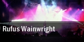 Rufus Wainwright Milwaukee tickets