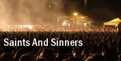 Saints and Sinners tickets