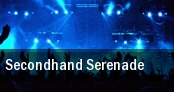 Secondhand Serenade New York tickets