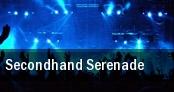 Secondhand Serenade New York tickets