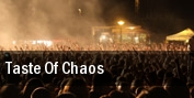 Taste Of Chaos Detroit tickets