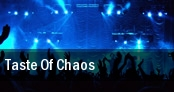 Taste Of Chaos Seattle tickets