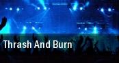 Thrash & Burn Tour The Pearl Room tickets