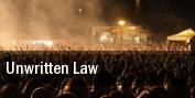 Unwritten Law Velvet Jones tickets
