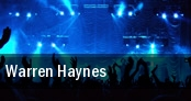 Warren Haynes Warfield tickets