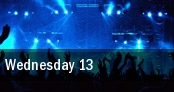 Wednesday 13 Fort Lauderdale tickets