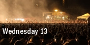 Wednesday 13 tickets