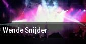Wende Snijder tickets