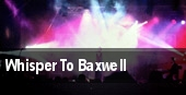 Whisper To Baxwell The National Concert Hall tickets
