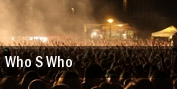 Who s Who tickets