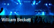 William Beckett Rhythm Room tickets