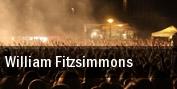 William Fitzsimmons E tickets