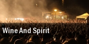 Wine and Spirit tickets
