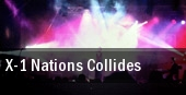 X-1 Nations Collides tickets