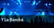 Y La Bamba New York tickets