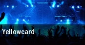 Yellowcard Boston tickets