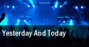 Yesterday and Today The Des Moines Playhouse tickets