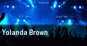 Yolanda Brown tickets