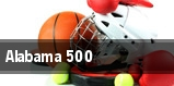Alabama 500 tickets