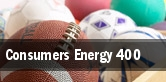 Consumers Energy 400 tickets