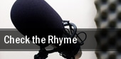 Check the Rhyme tickets