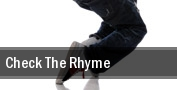 Check the Rhyme Izod Center tickets