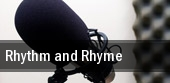 Rhythm and Rhyme tickets
