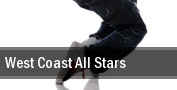 West Coast All Stars Planet Hollywood Theater Of The Performing Arts tickets