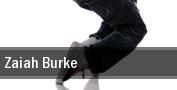Zaiah Burke The Norva tickets