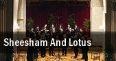 Sheesham and Lotus Spruce Grove tickets