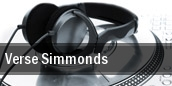 Verse Simmonds tickets