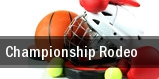Championship Rodeo tickets
