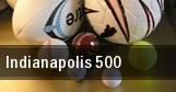 Indianapolis 500 Indianapolis Motor Speedway tickets