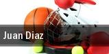 Juan Diaz tickets